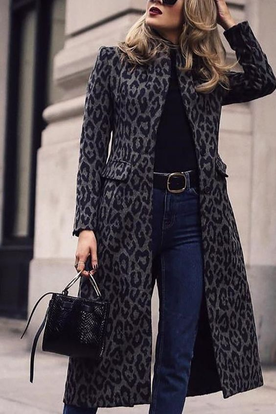 winter outfit 2019 - 2020 woman of 30 or more elegant