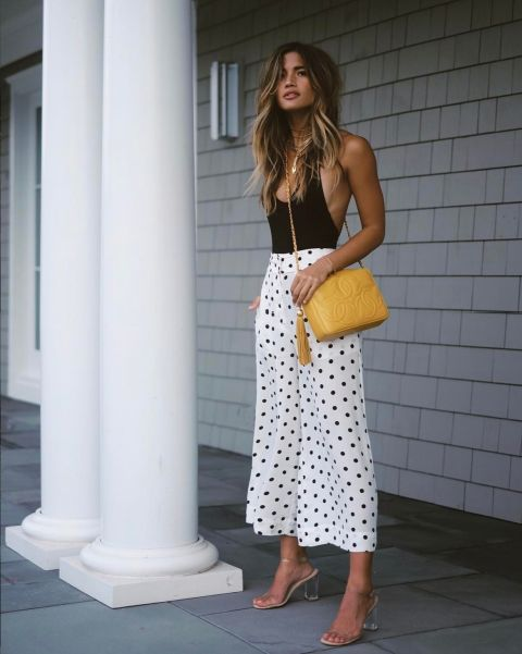polka dot pants for women with style