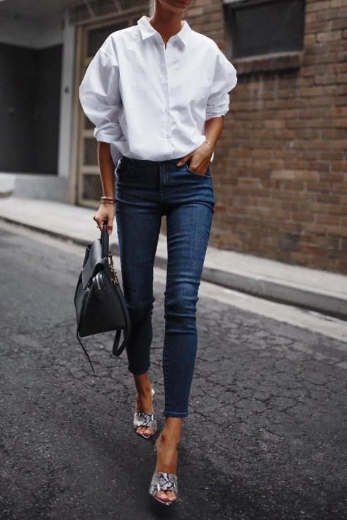 tips on how to wear oversized blouses and look elegant
