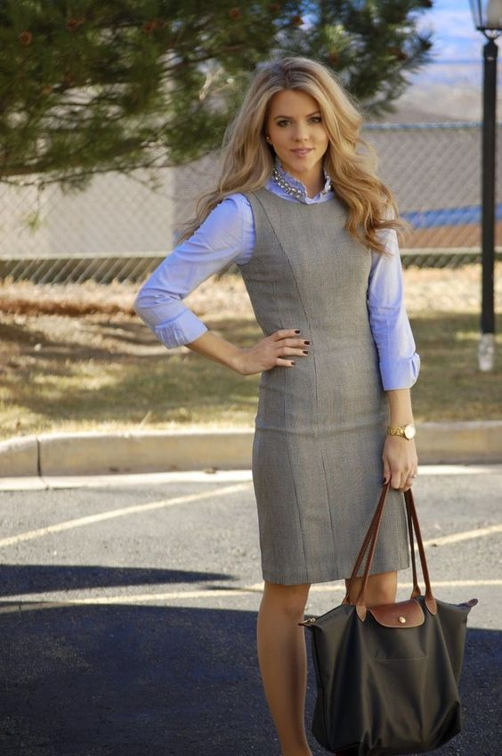 ideas to dress for the office with young women dress