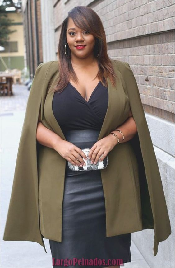 fashion blazer or open jacket for girls plus size