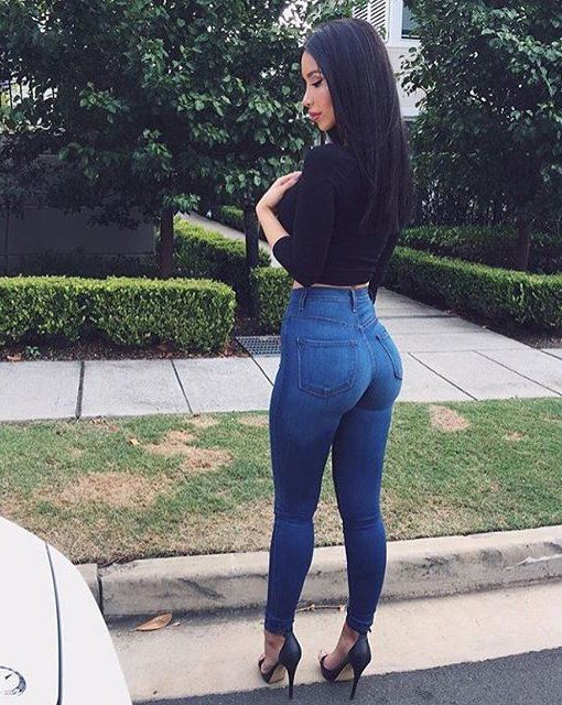 Jeans to highlight your figure
