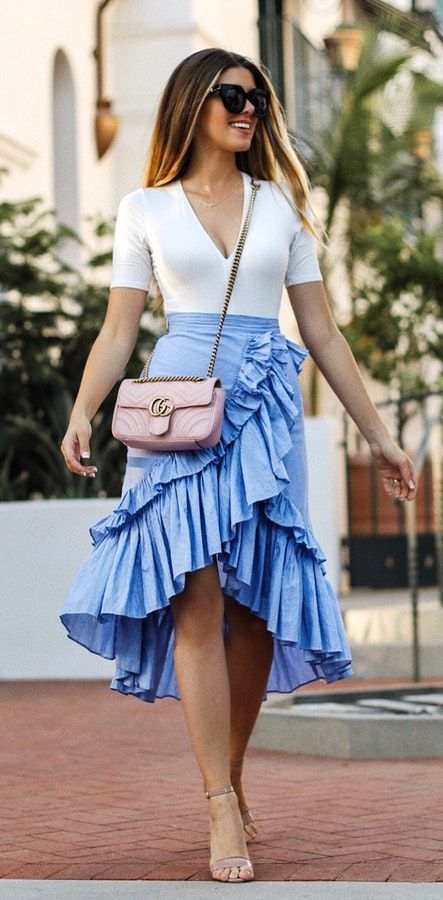 looks with skirts that will highlight your figure (3)