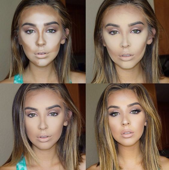 how to make up step by step (5)