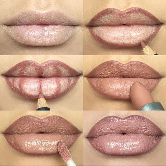 how to delineate lips (2)