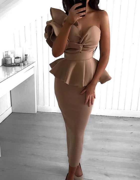 Trend in cocktail dresses for mature women