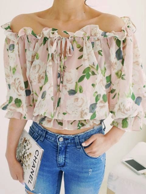 Blouses with designs