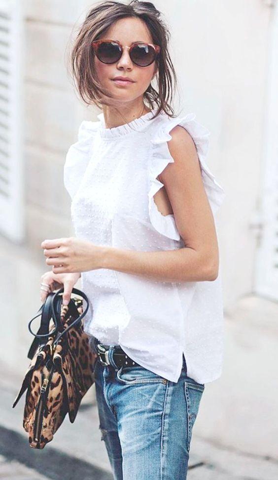 White blouses