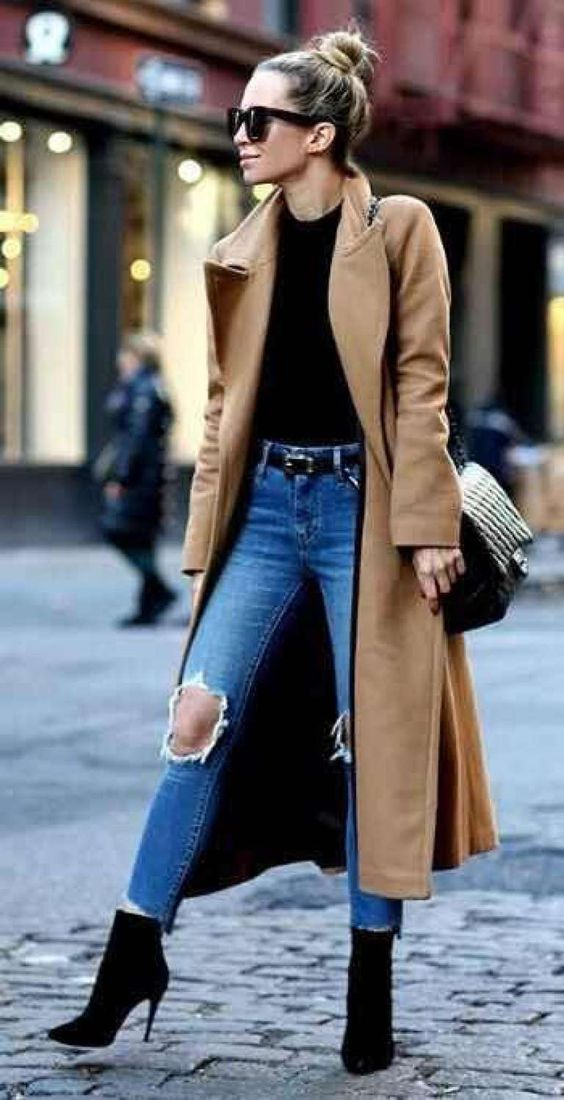 Autumn outfit - winter for stylish women