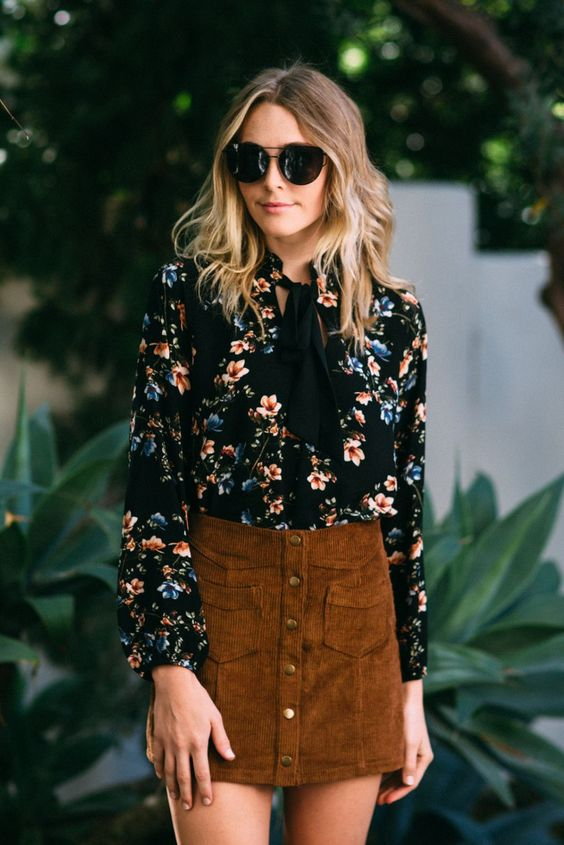 2018 printed blouses