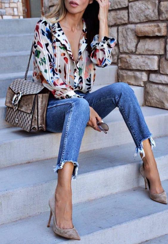 Fashion Printed Blouses (5)