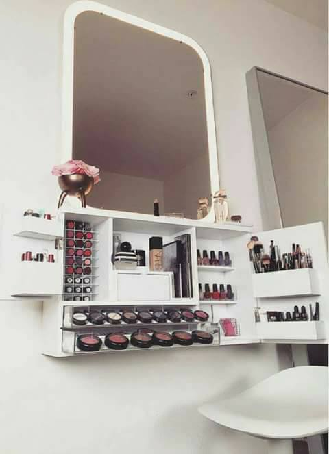 Amazing ideas to organize your makeup