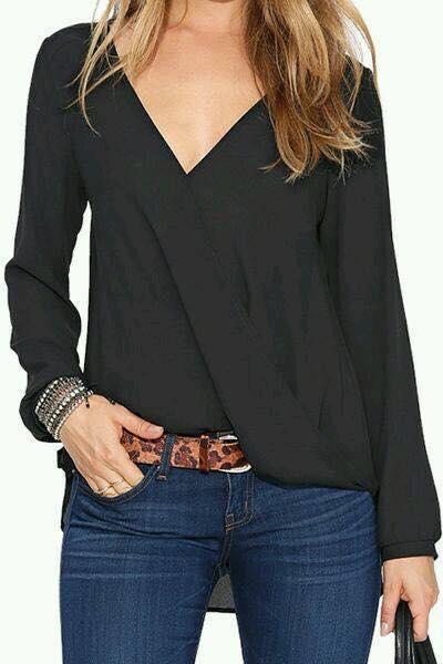 Black blouses 2019