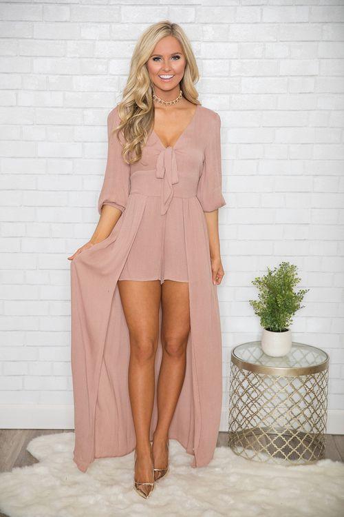 maxi dresses with plain shorts