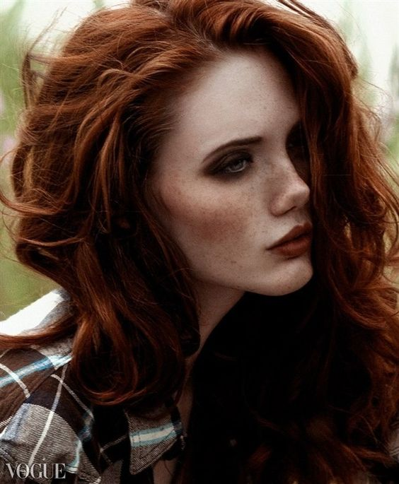 Trends in red hair