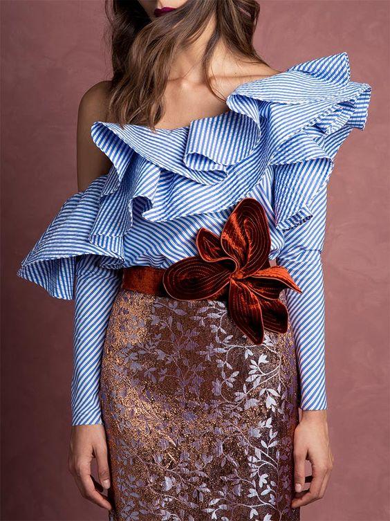 Modern blouse fashions