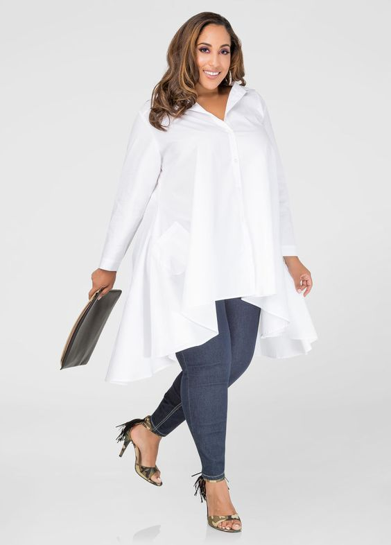 how to wear oversized blouses and look elegant