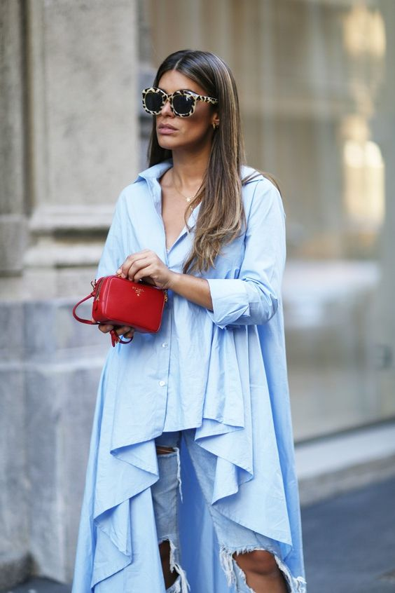 Maxi Blouses: A Trend in Fashion