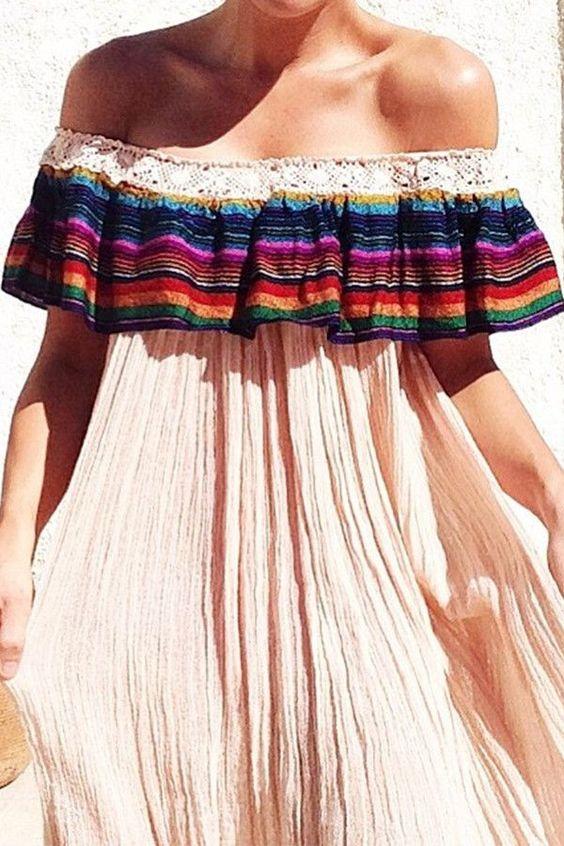 Mexican national party dresses