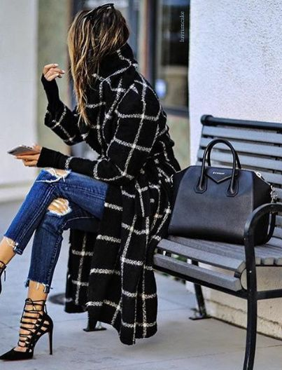 Fashion looks with long coats