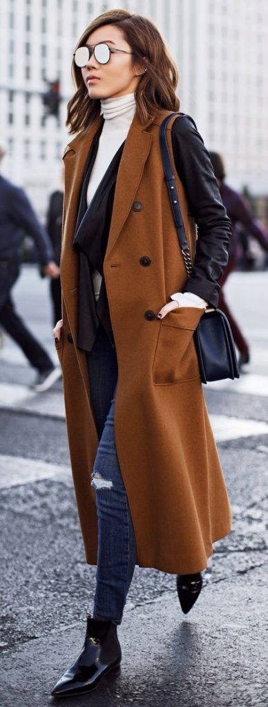 Outfits with long coats