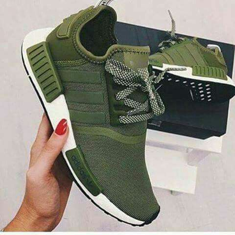 adidas green military sneakers