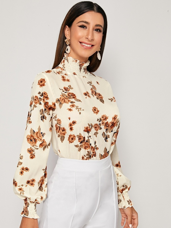fashionable autumn blouses with prints