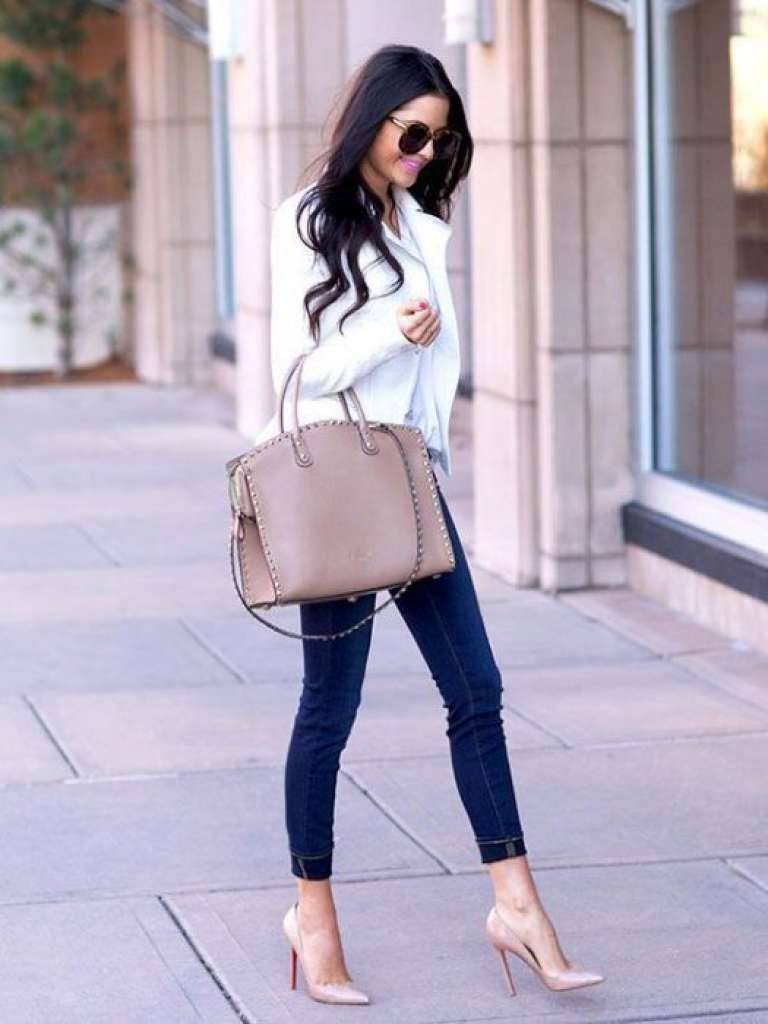 Casual outfits for the daily newspaper women of 30 years or more: Choose the perfect women's blazer