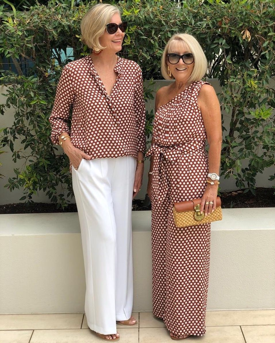 Casual outfits for women over 50 or older