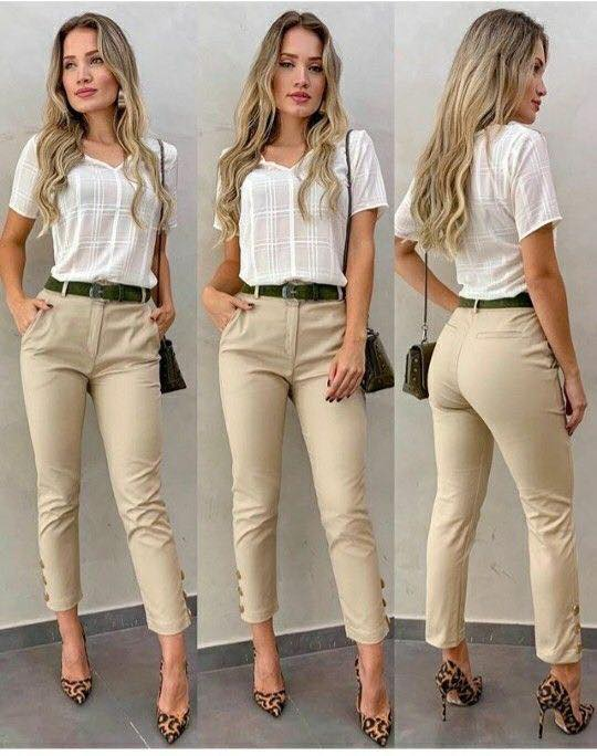 How to wear capri pants for formal office attire