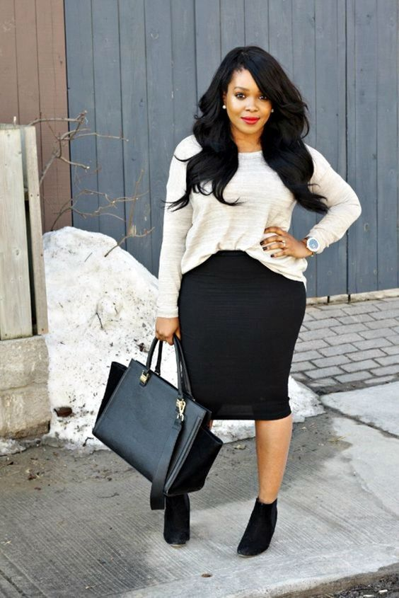 Pencil cut skirts to flatter your silhouette