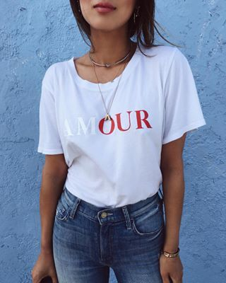 Looks with t-shirts with a message