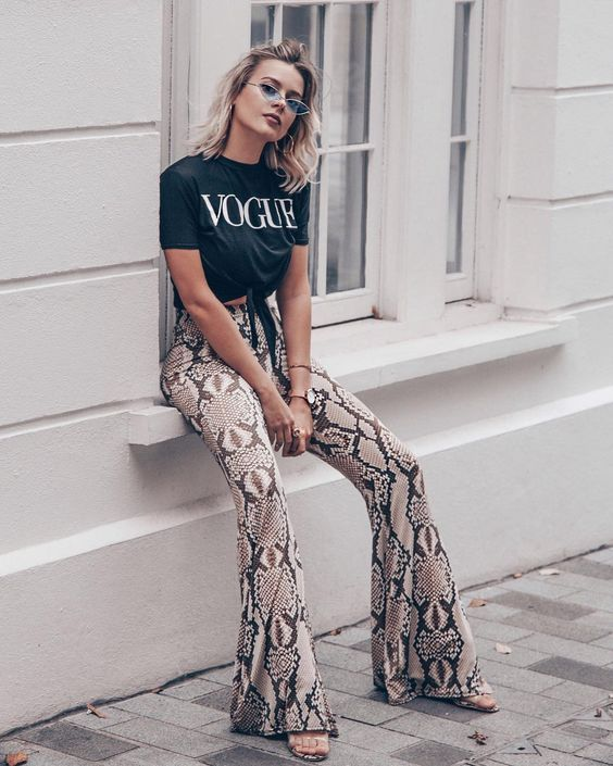 Outfits with glamorous t-shirts