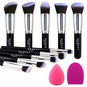BEAKEY makeup brush set