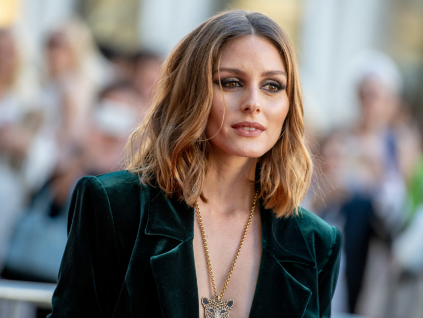 The trendsetter Olivia Palermo belongs to the palette of the autumn season: they give it warm colors