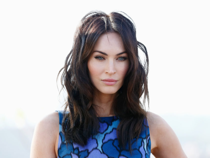 Actress Megan Fox belongs to the winter season palette: they give her cold, intense colors