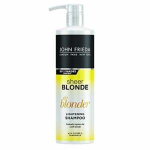 John Frieda Sheer Blonde Go Blonder, lightening shampoo (English version)