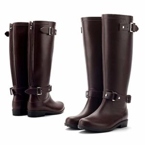 Aonegold rubber rain boots