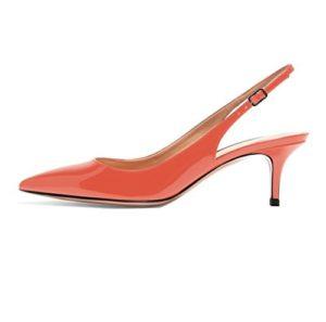 Soireelady thin heel slingback