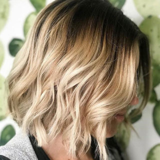 Ombré hair: shaded colors that enhance medium and short cuts