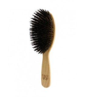 Brush with boar bristles