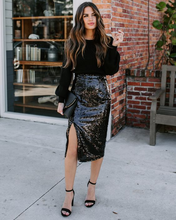Outfits with glitters that will enhance your look