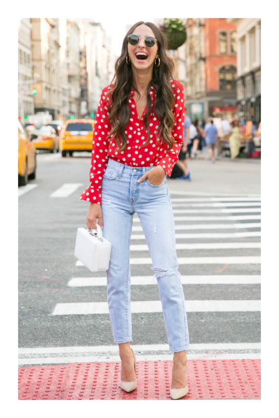 Casual looks with jeans