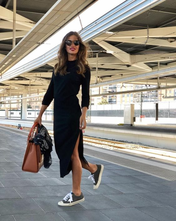 Sunday outfit ideas with a dress