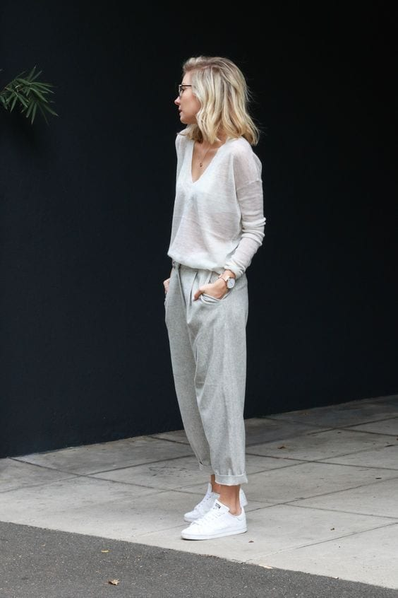Weekend looks with pants for women over 40
