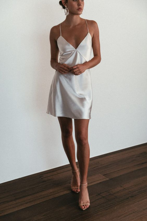 Outfit ideas with satin dresses