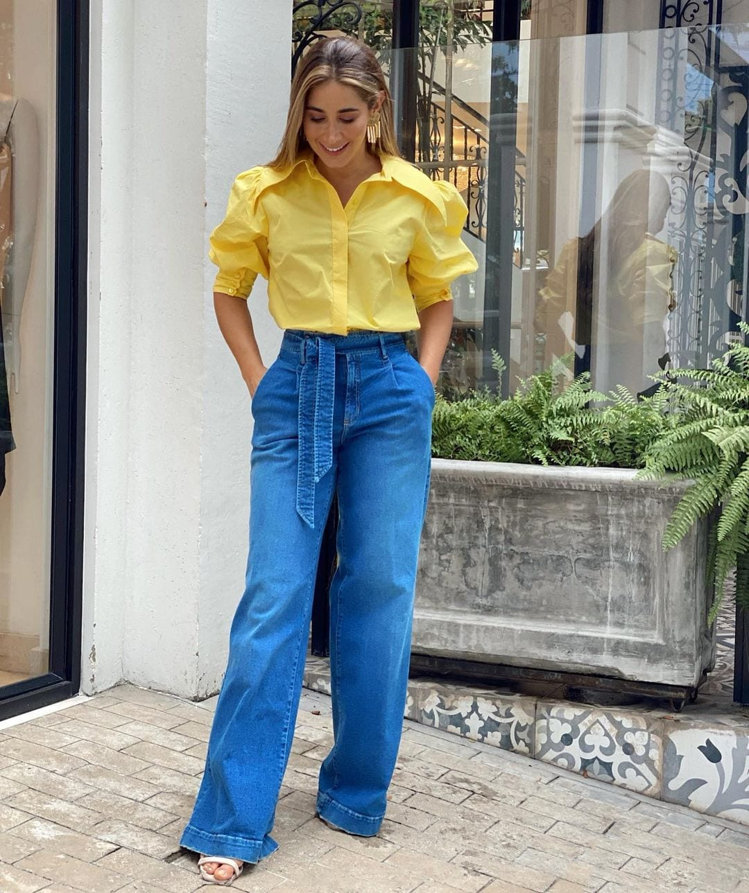Pastel yellow outfit ideas