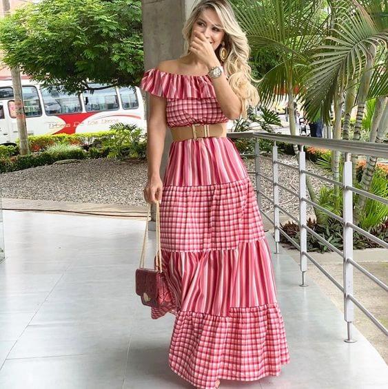 Maxi dresses spring - summer for women of 40