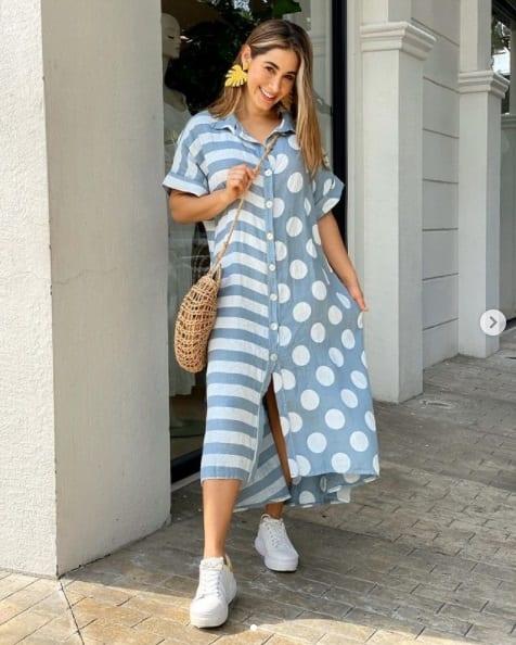 Spring - summer dresses for women over 40