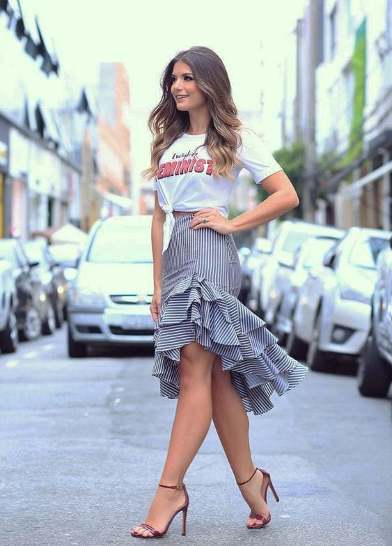 Types of skirts that will make you look more curvy